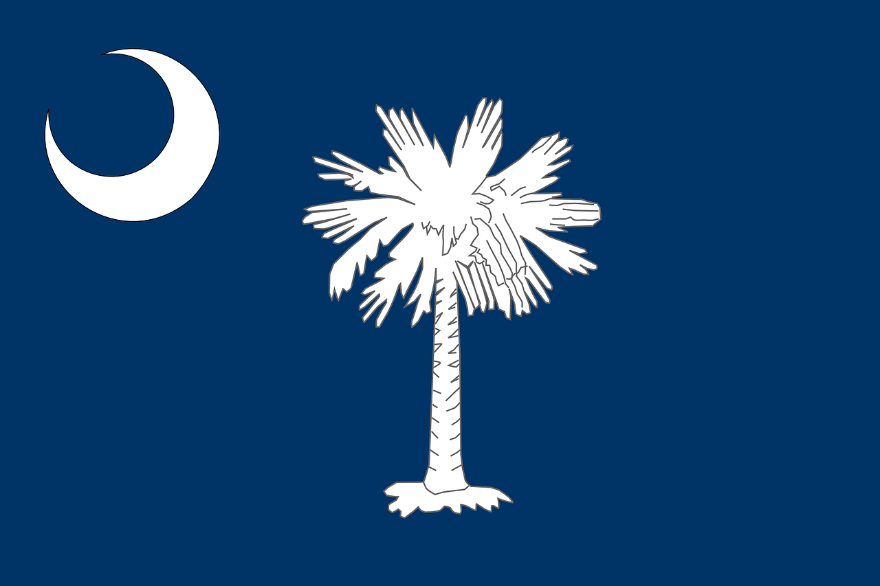 flag, south carolina, state